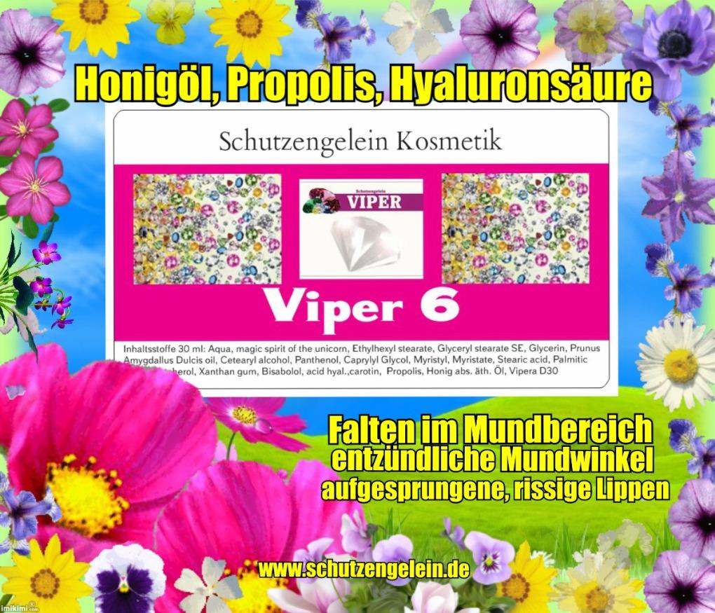 Viper 6, Lippencreme für Lippenvergrößerung von Schutzengelein